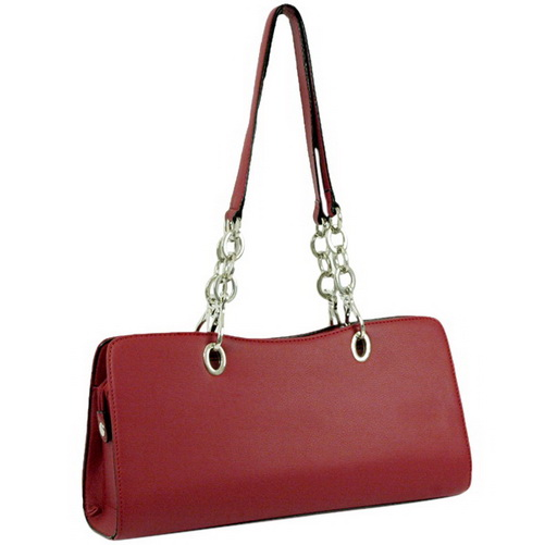 Soft Synthetic  leather like chain shoulder bag