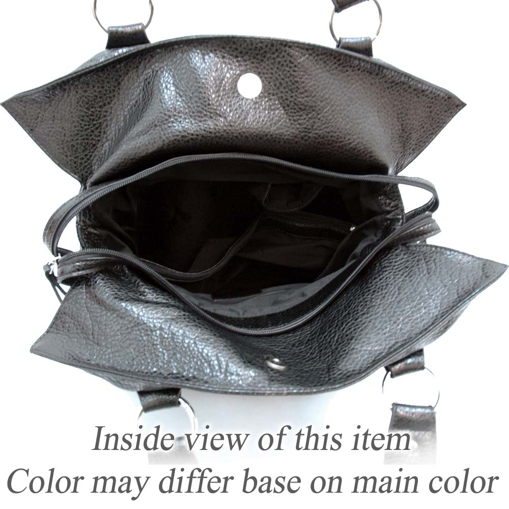Dasein Belted Soft Fashion Tote Bag