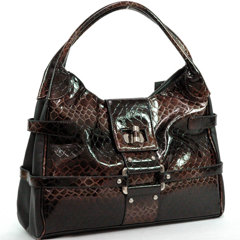 Dasein Esserpenti® Buckle Shoulder Bag