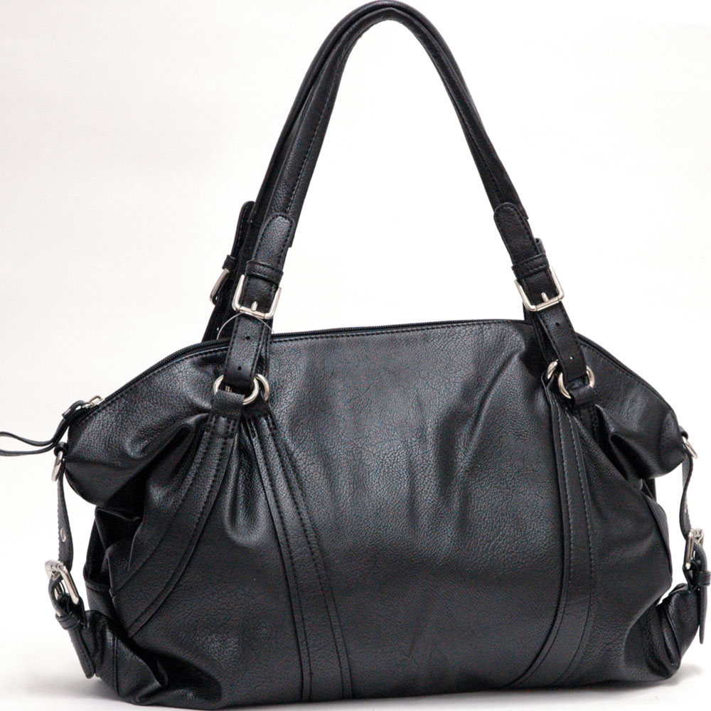 Dasein Soft Fashion Belt Accented Tote Bag