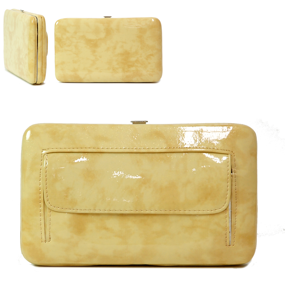 Country Road Extra Deep Metal Frame Wallet - Yellow