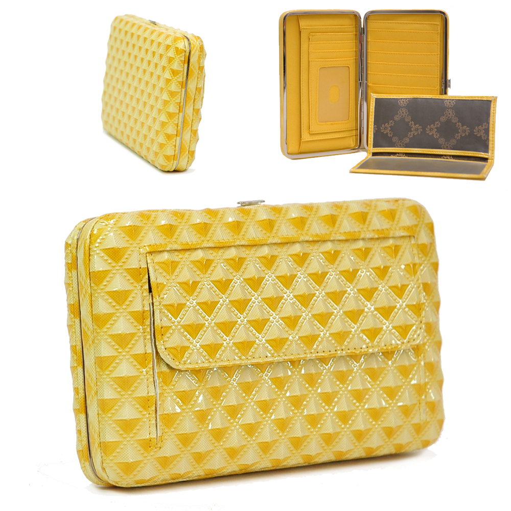 Extra Deep Metal Frame Wallet