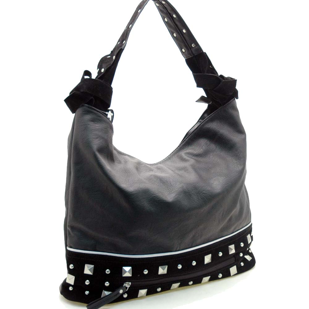 Dasein Mitwelt® Bottom Studded Hobo