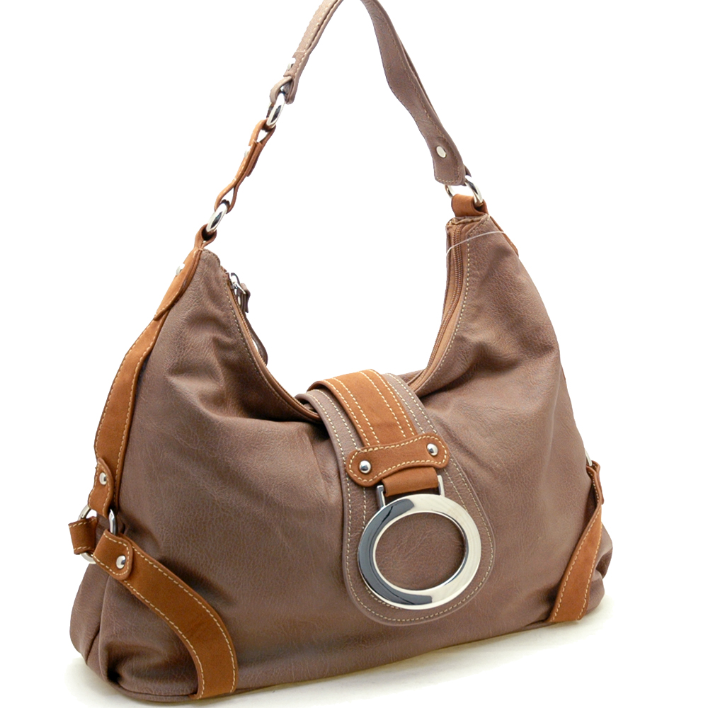 Dasein Mitwelt® Ring Flap Hobo