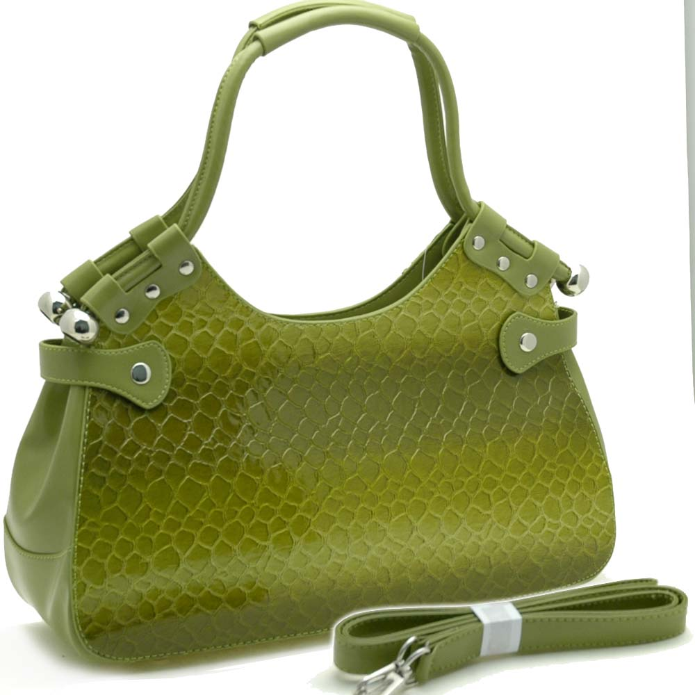 Dasein Esserpenti® Concave Top Shoulder Bag