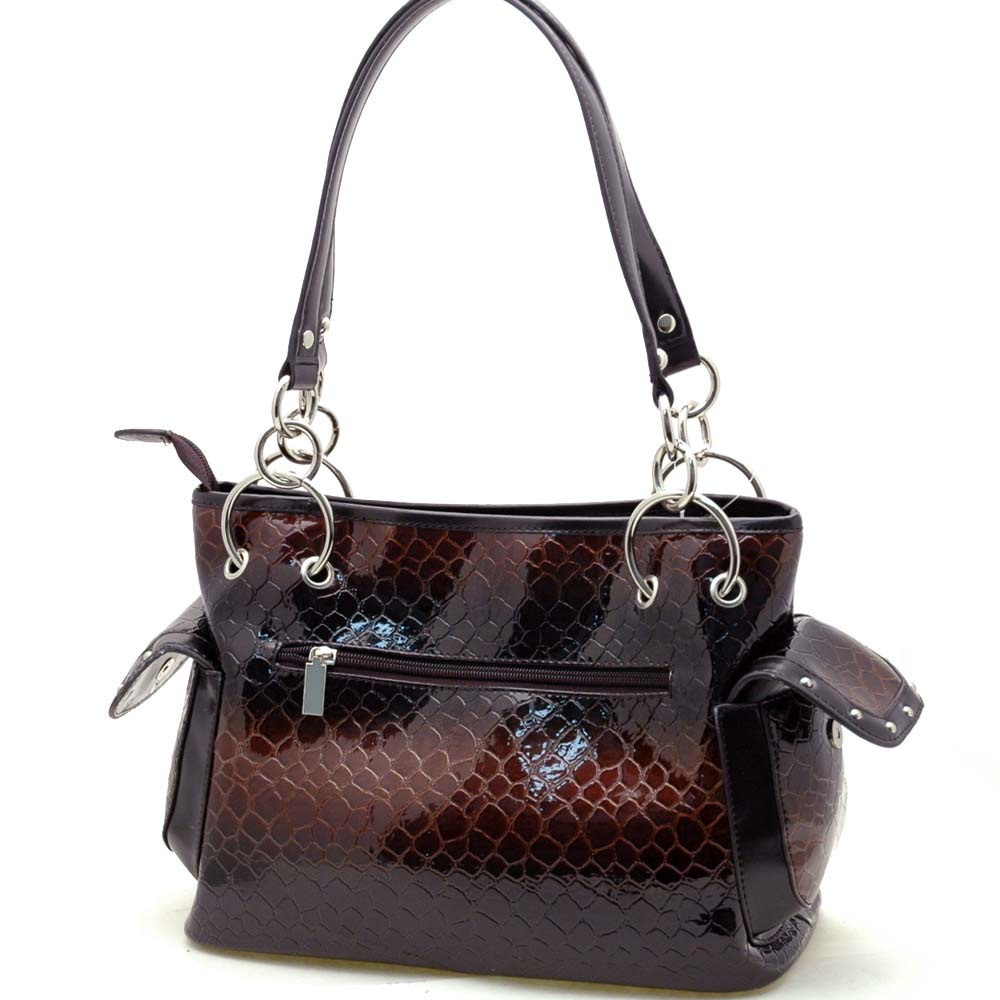 Dasein Esserpenti® Rhinestone Cross Shoulder Bag