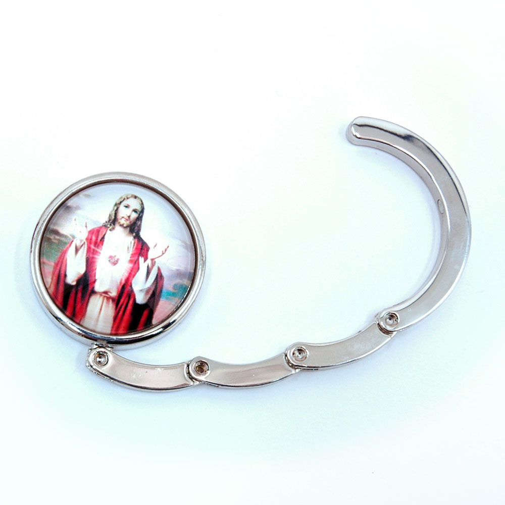 Dasein High-quality Jesus Christianity Foldable Purse Hanger