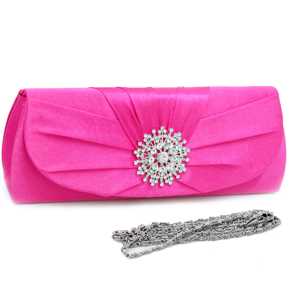 Snowflake Rhinestone Jewel Evening Bag