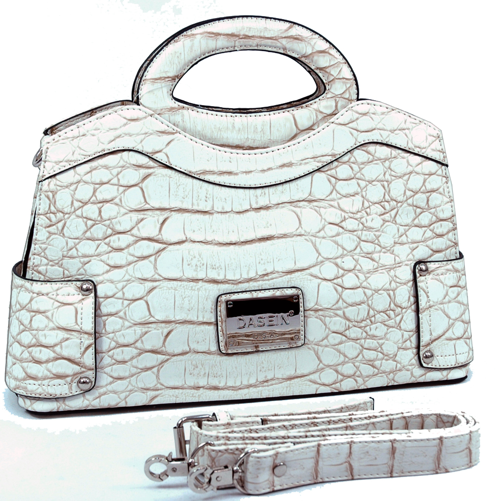 Dasein Kroco Wave Top Satchel