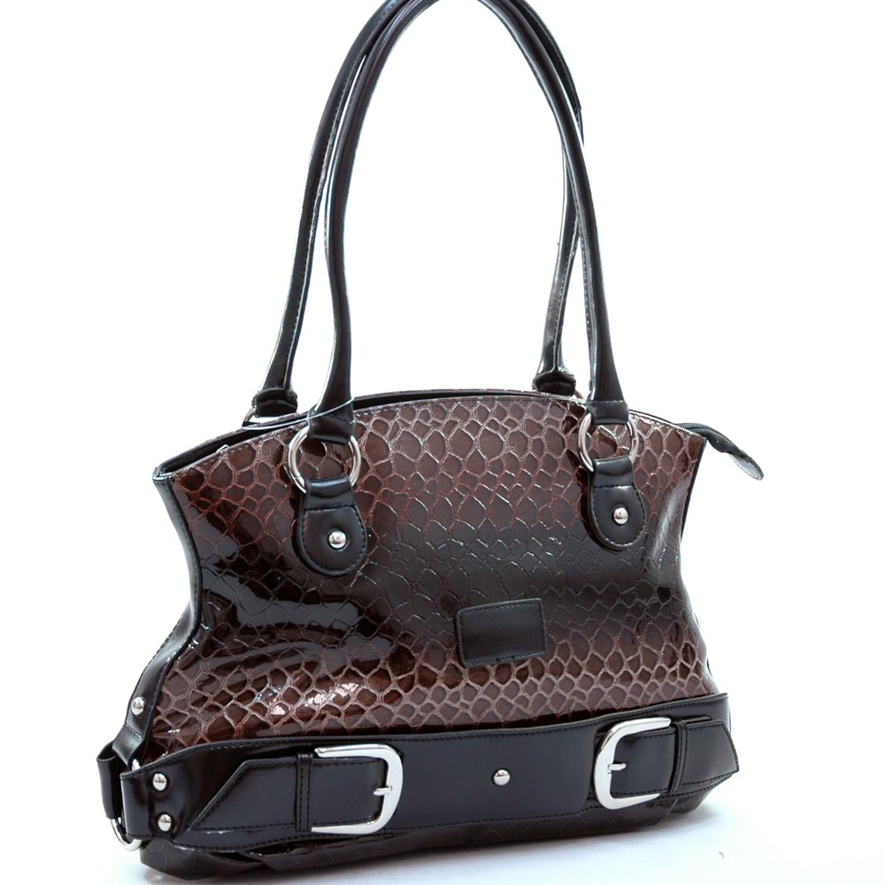 Dasein Esserpenti® Bottom Belted Tote