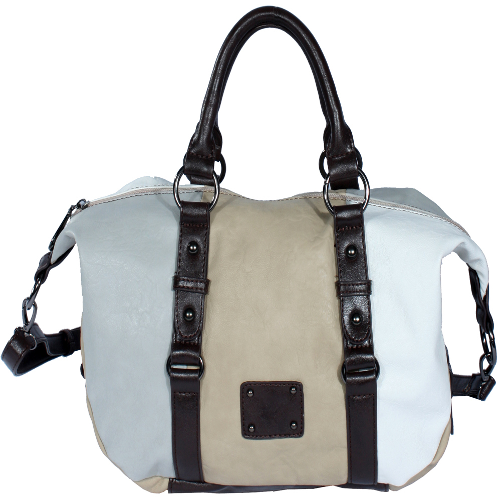 St. Barry® Block Color Satchel
