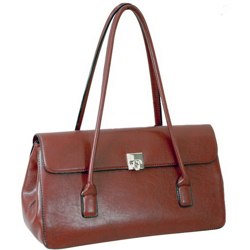 Vani® Classic Snap Closure Shoulder Bag