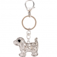 Patch Pup Key Ring