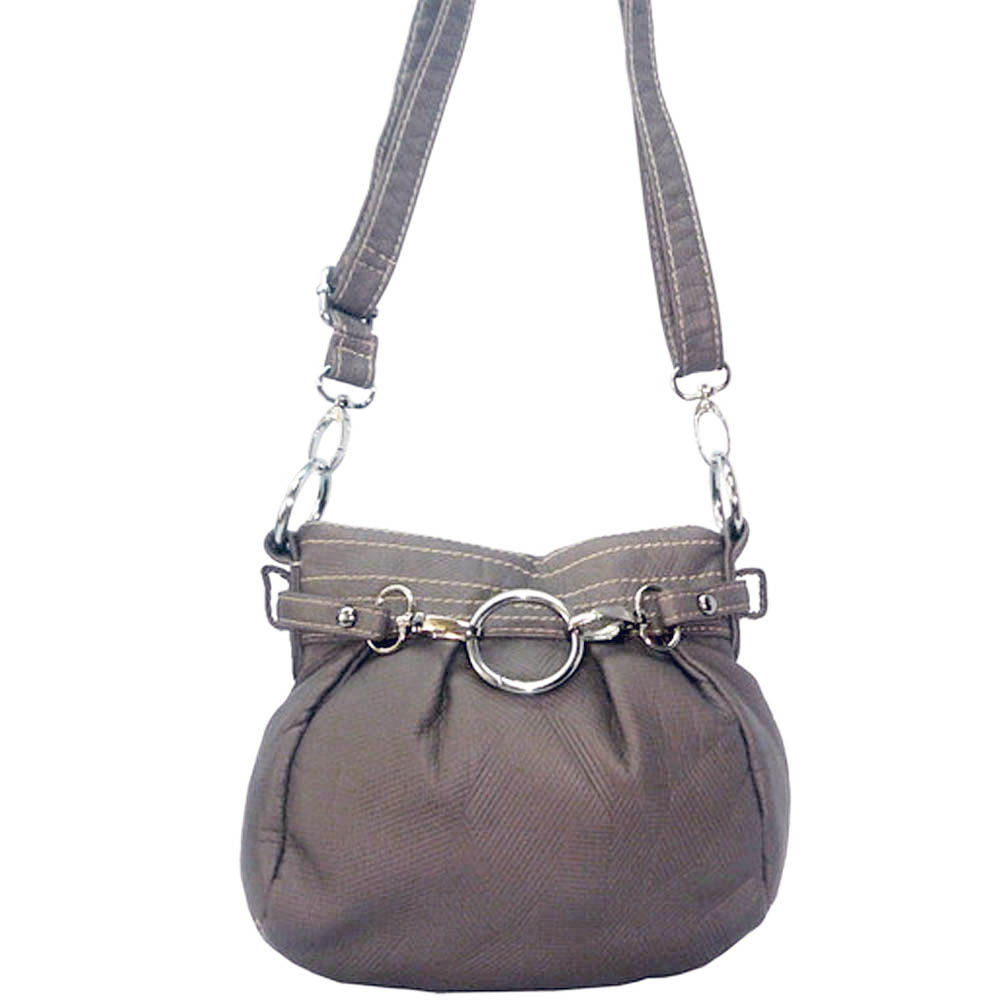 Ustyle Stone Washed Petite Cross Body Bag with Detachable Strap