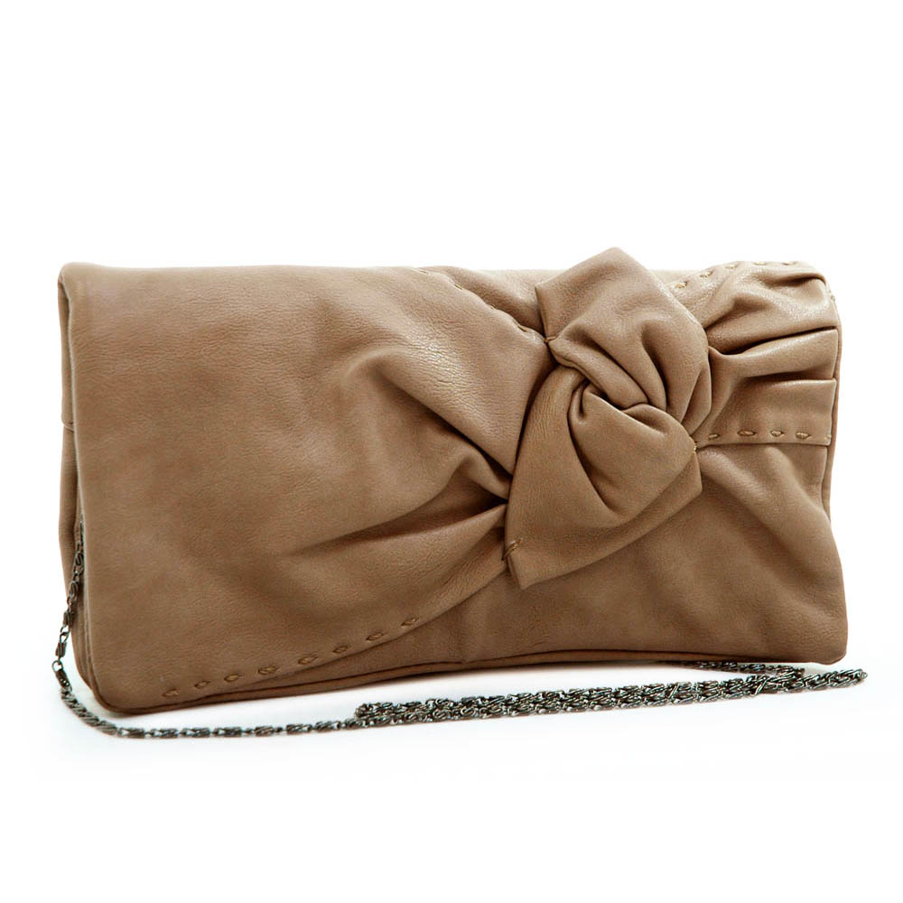 Deyce® Twisted Bow Tie Crossbody/Clutch