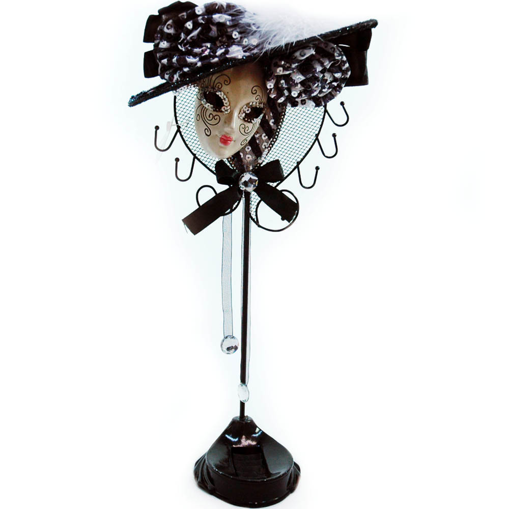 Jewelry display stand mask design