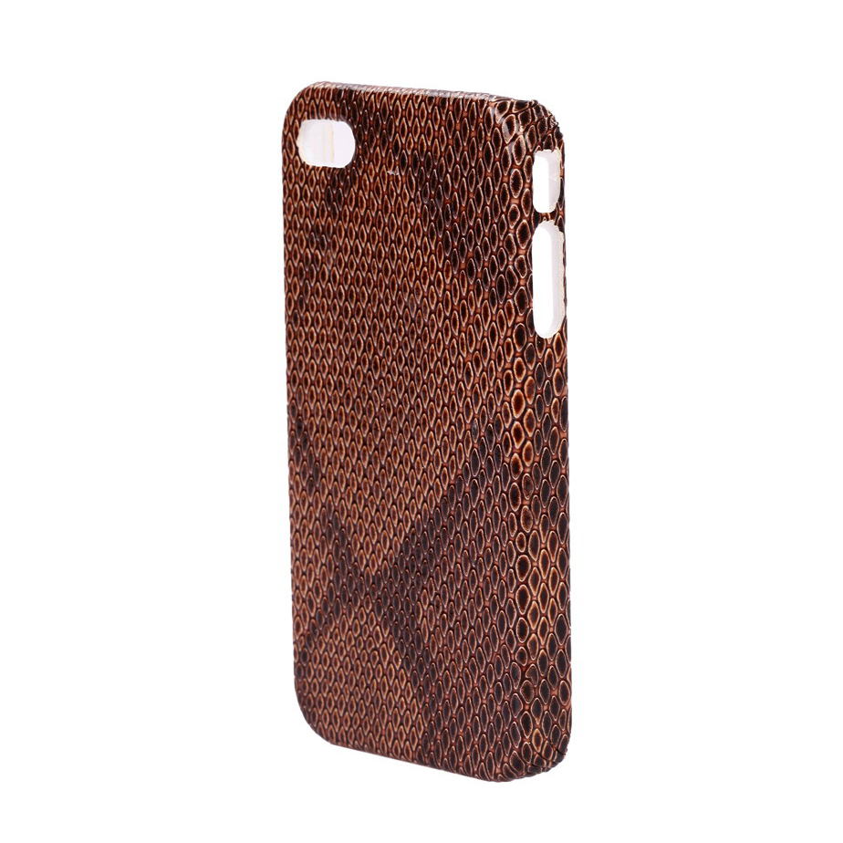 Fashlets Generic Brown Snakeskin Phone Case