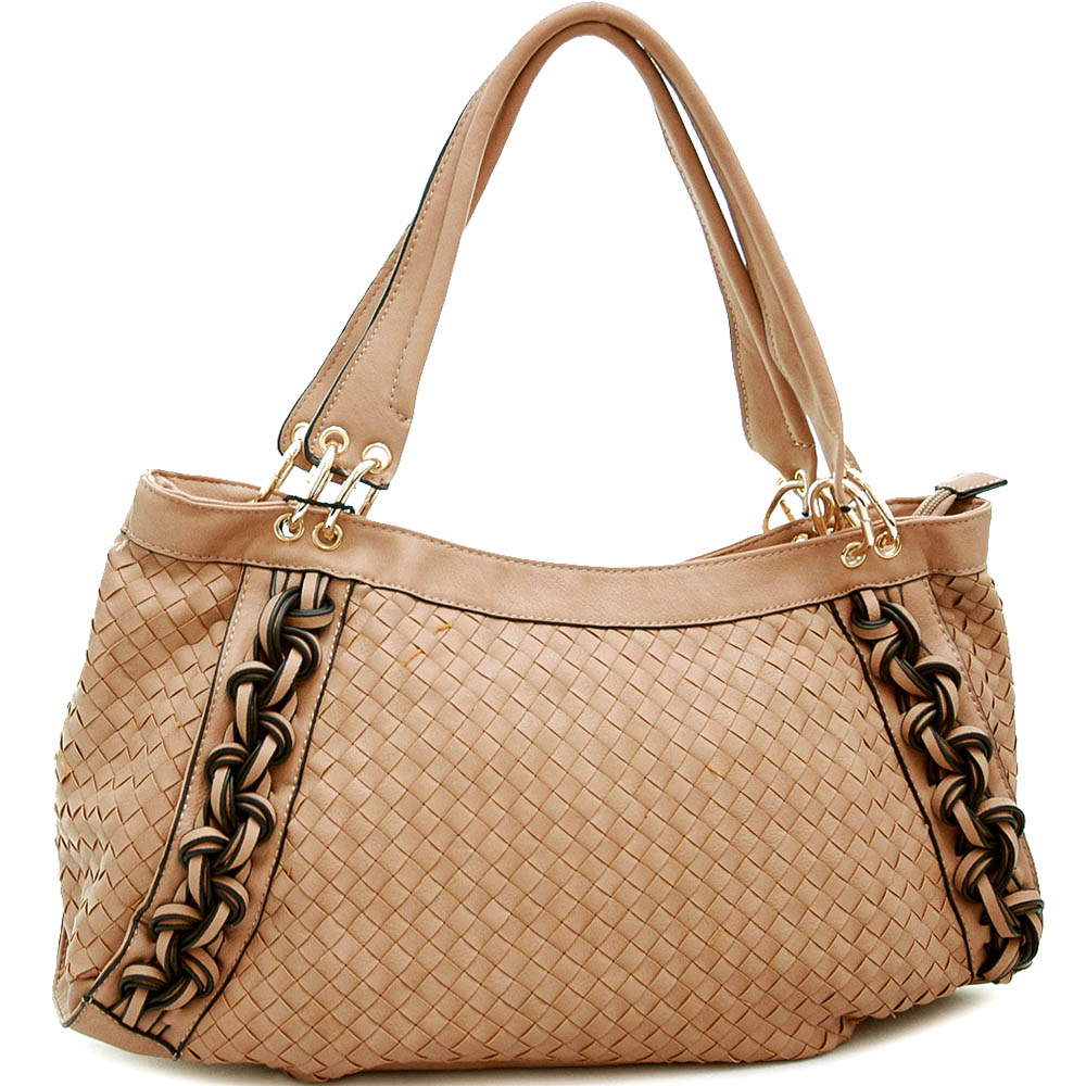 Emperia® Weave Texture Shoulder Bag