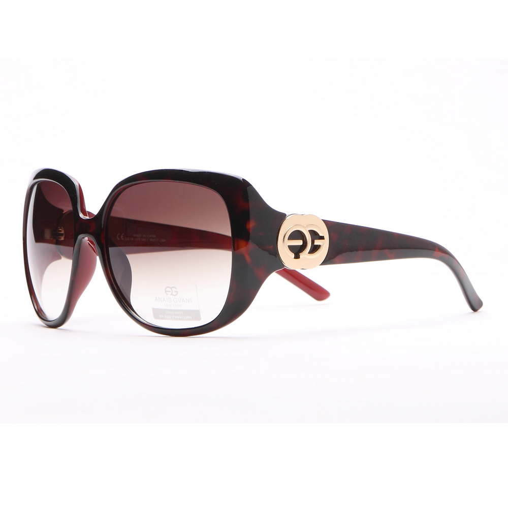 Large Square Frame Fashion Sunglasses