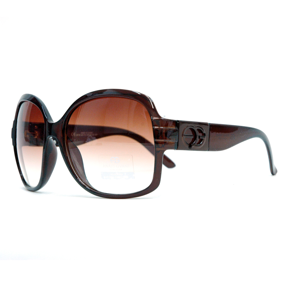 Round Box Frame Fashion Sunglasses