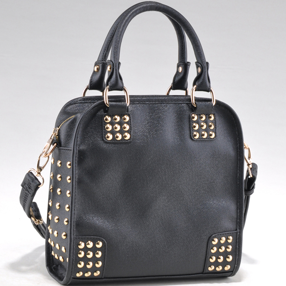 Large Studded  Fashion Satchel