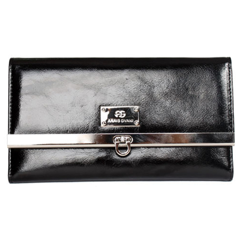 Classic Italian Leather Checkbook Wallet