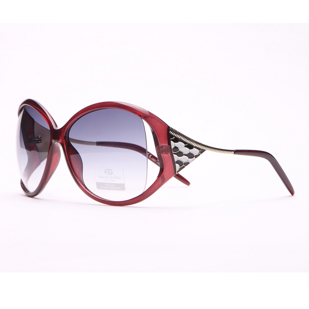 Oversized Fashion Sunglasses w/ Pop Out Mosaic Design