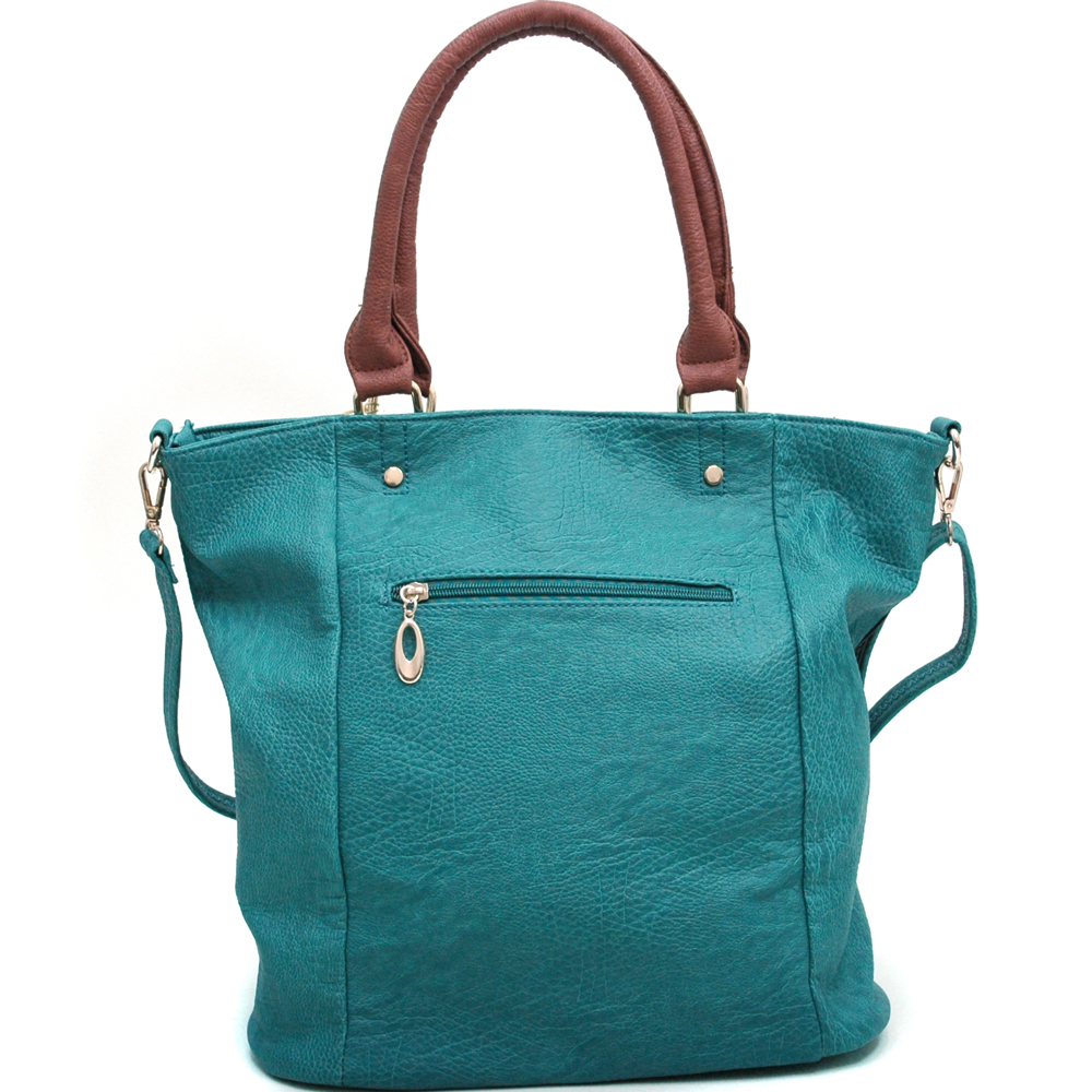 Snappy Fashion Tote Bag w/ Bonus Shoulder Strap