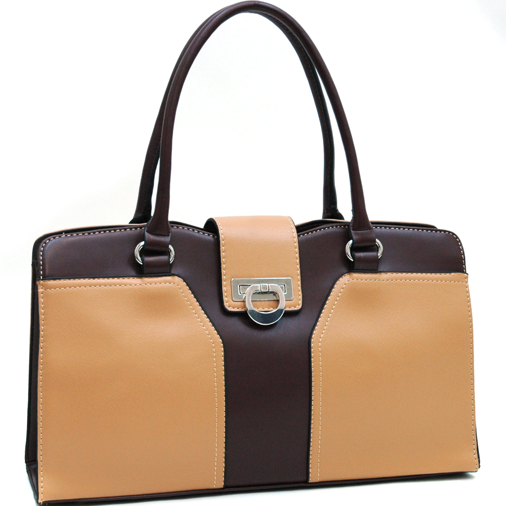 Dasein Mitsein® Two-Tone Shoulder Bag