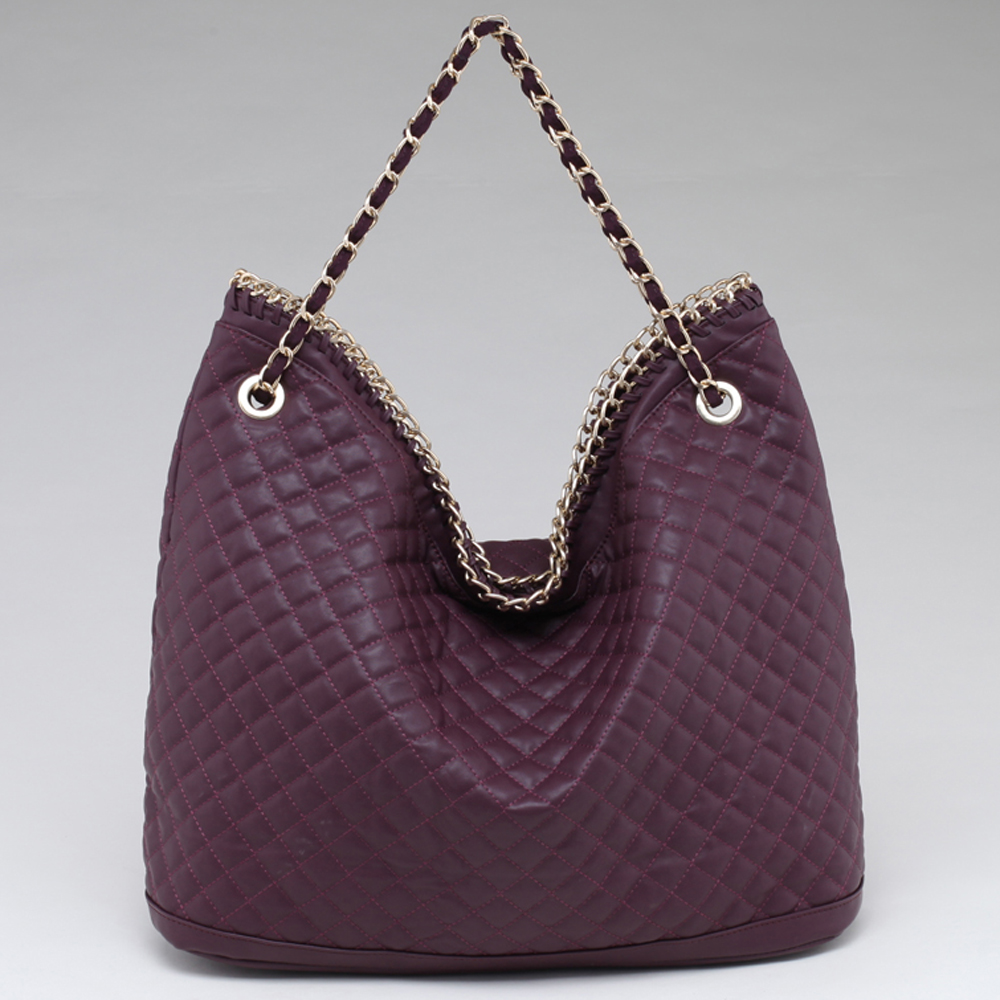Alyssa® Chain Rimmed Hobo