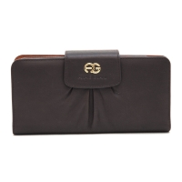Anais Gvani® Cadman Plaza Snap Closure Genuine Leather Wallet