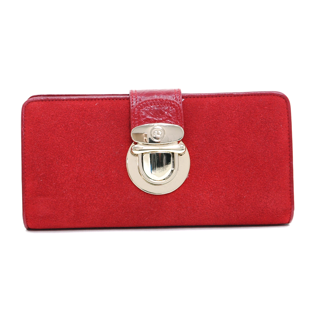 Anais Gvani® Bennette Park Suede & Genuine Leather Wallet