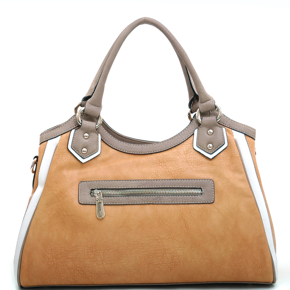 Anais Gvani® Stuyvesant Square Logo Shoulder Bag