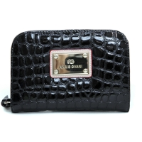 Anais Gvani® Battery Park Round Edged Croco Wallet