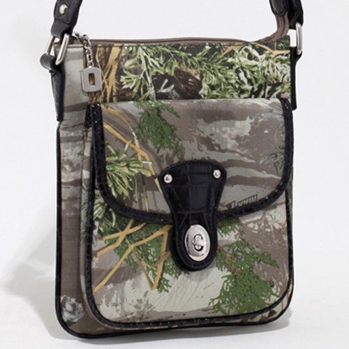 Realtree® Max-1 Camo Twist Lock Crossbody