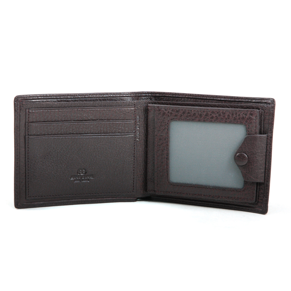 Anais Gvani® Men's Smooth Genuine Top Grain Italian Leather Wallet