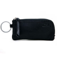 Anais Gvani® Genuine Leather Multi-functional Case with 2 Key Chain Rings