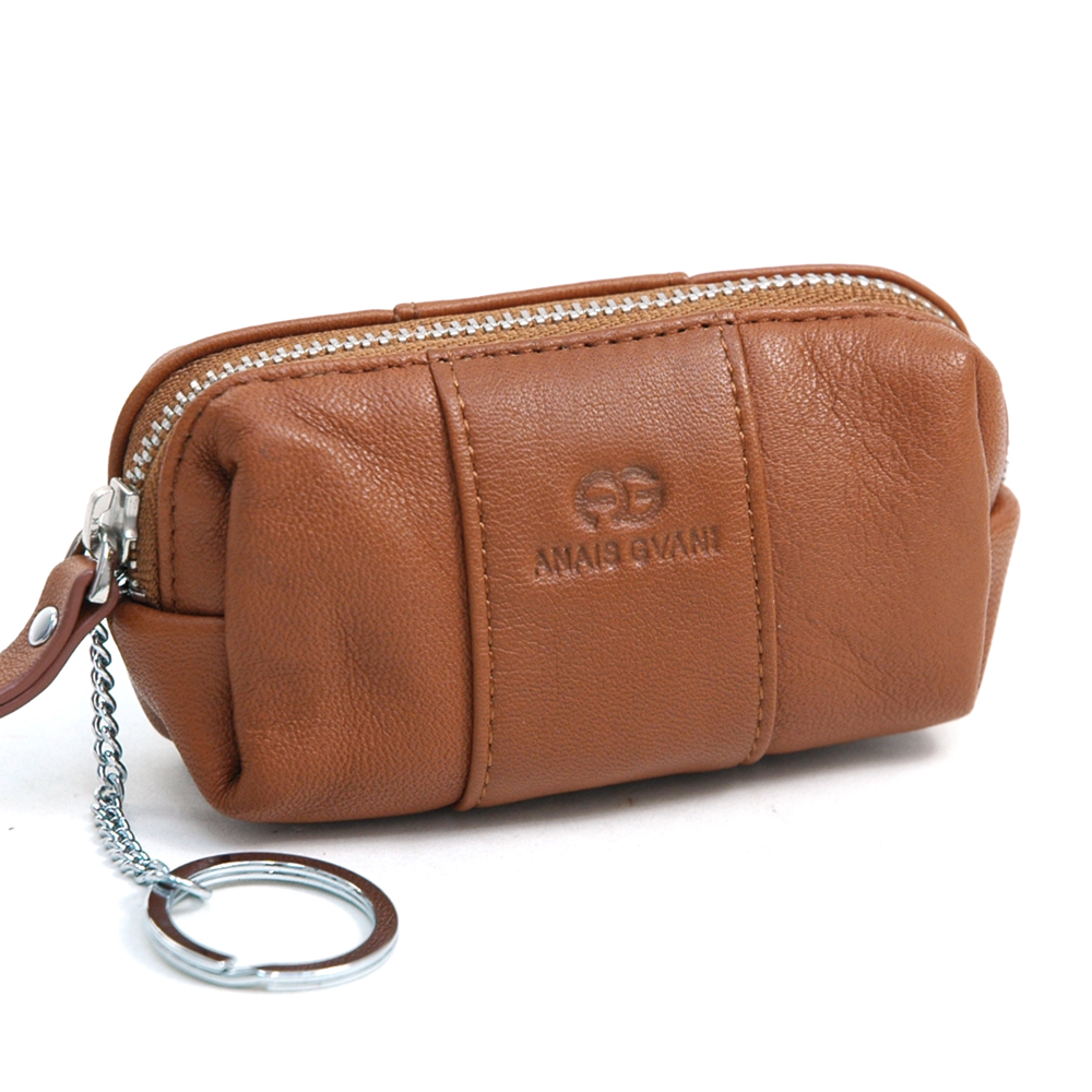 Anais Gvani® Cadman Plaza Genuine Leather Key Pouch