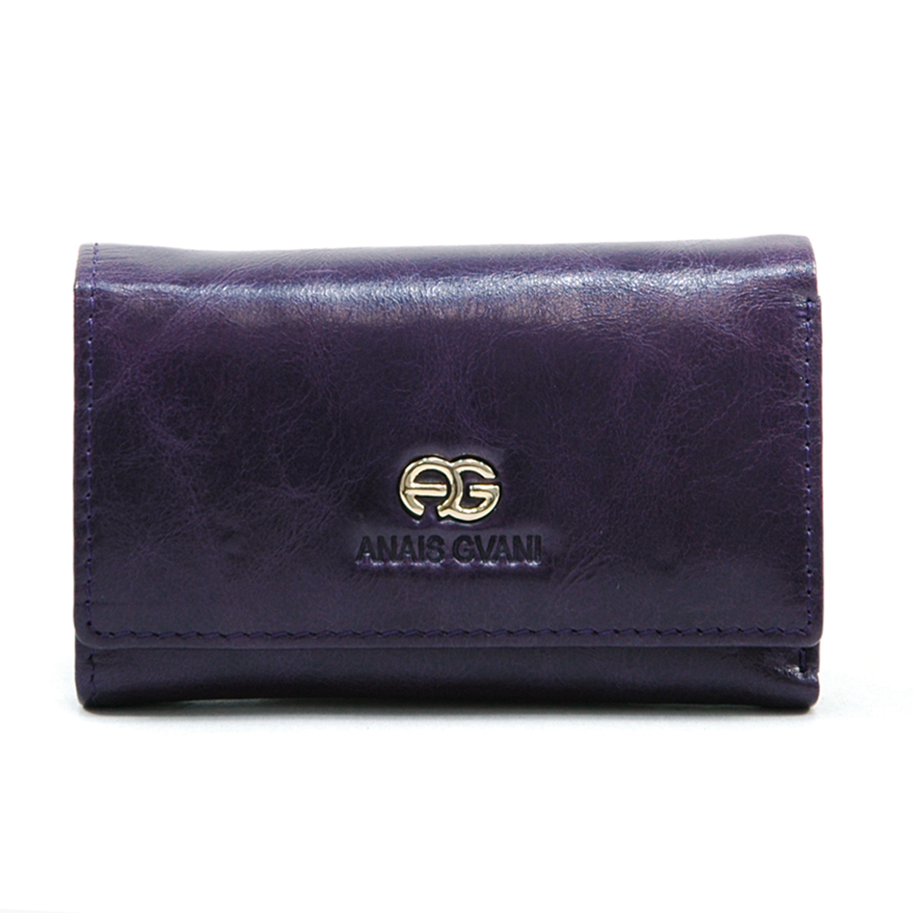 Anais Gvani® Tribeca Park Petite Genuine Leather Wallet