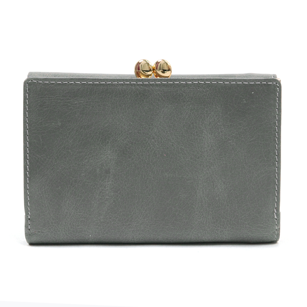 Anais Gvani® Tribeca Park Petite Kiss-Lock Genuine Leather Wallet
