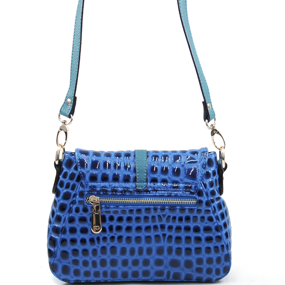 Anais Gvani® Battery Park Croco Crossbody