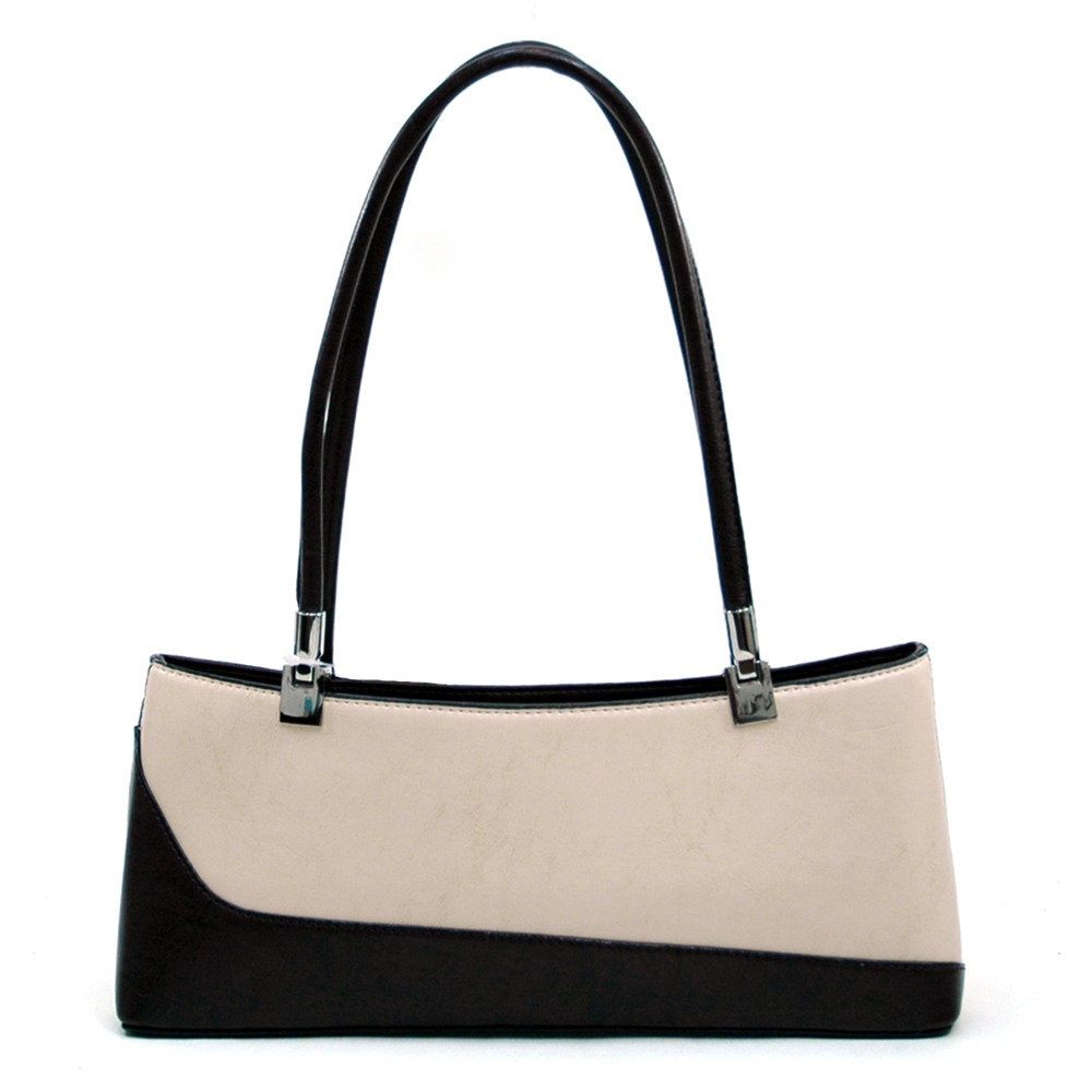 Classic Fine Textured Classic Shoulder Handbag Purse