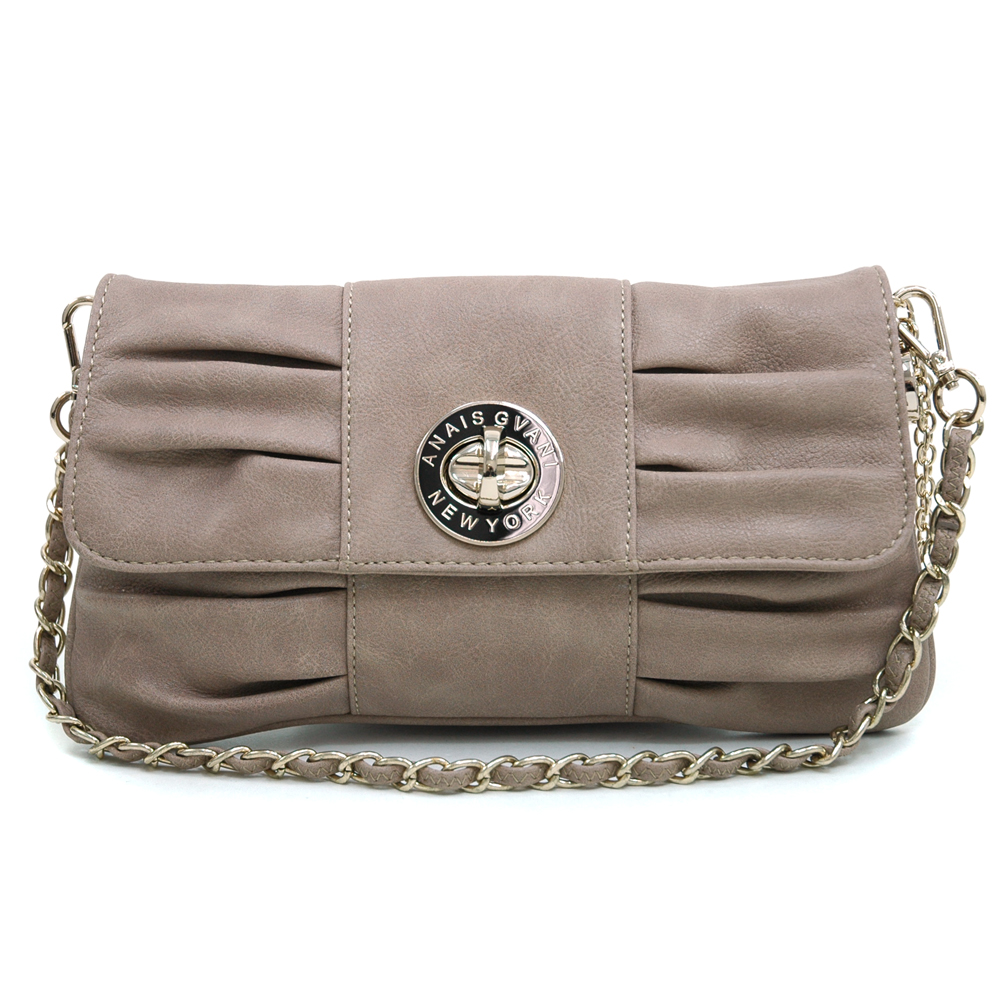 Anais Gvani® East River Park Pleated Clutch