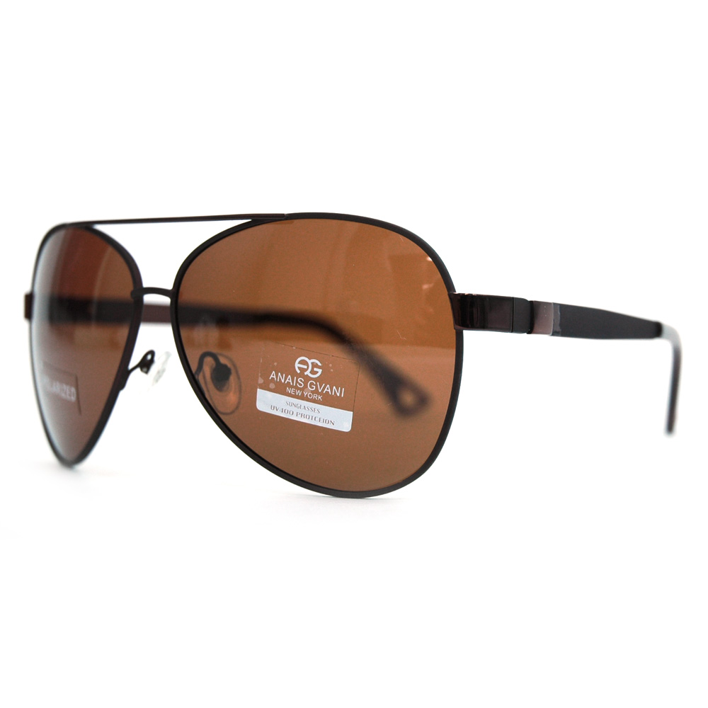 Women's Classic Aviator Sunglasses w/ Simple  Side Accent