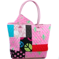 Fashlets Generic® Quilted Patchwork Tote