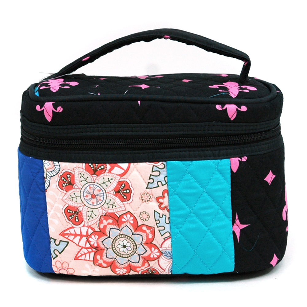 Fashlets Generic Quilted Patchwork Cosmetic Bag