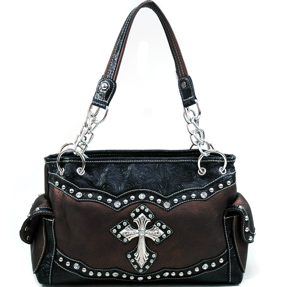 U Style® Maiden Hair Fern Cross Shoulder Bag