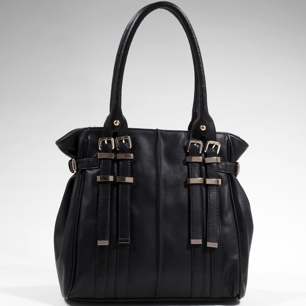 Women's Classic Belted Fashion Shoulder Bag