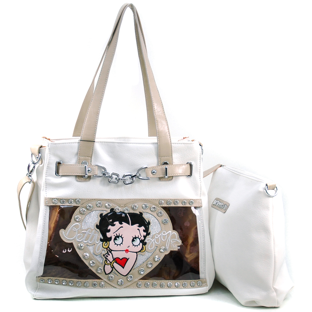 Betty Boop® Little Pal Pudgy Chained 2-in-1 Tote