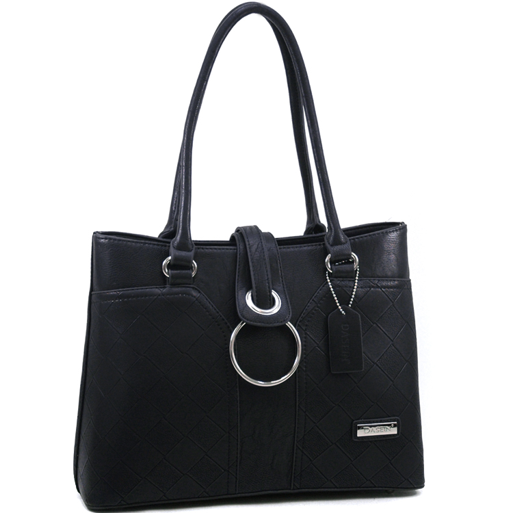 Dasein Wesen® Ring Flap Shoulder Bag